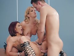 Top milfs in special cock sharing romance
