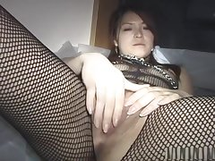 Sexy looking young wife spreading herself for unknown men