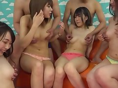 Nude Japanese sluts more group scenes of pure making love