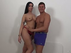 Lusty Loren Minardi loves taking big prick into say no to anus gaping void enough for delight