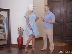 silicone diva Nicolette Shea adores dirty sex on the dado nearly will not hear of friend