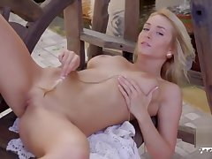 Chunky tits pornstar sexual intercourse and cumshot