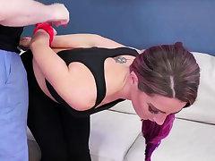 Patrolman domination Ass-Slave Yoga