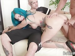 Sexy swinger wives treasure their pussies getting fucked from behind in doggy arrogance