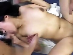 Pov anal threesome and blowjob