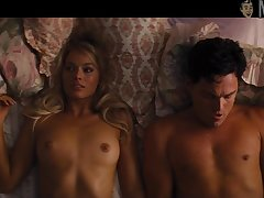 Just more than alluring excessive price Margot Robbie and her sexy natural tits